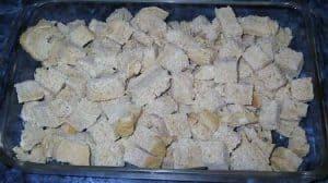 Bread in a pan... like wow