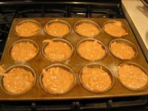 A pan full of joy, or cupcake batter