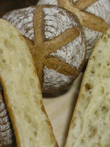 A closeup of some of the Artisan 101 breads