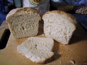 KA AP Simple Sourdough Pan Bread, slcied