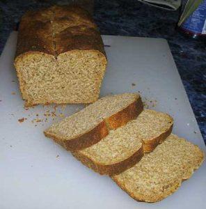 Loaf 1, a crumb shot