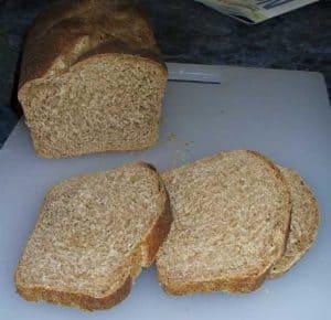Loaf 2, a crumb shot