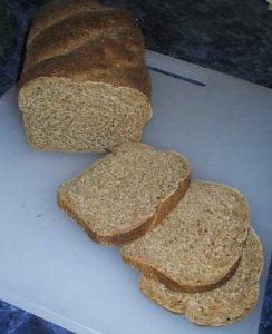 Loaf 3, a crumb shot