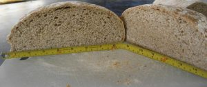 Crumb shot New Bohemian, larger loaf