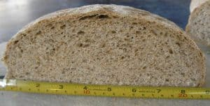 Another crumb shot, new bohemian rye, larger loaf