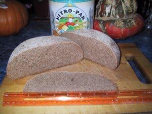 Nitro-Pak Red Wheat Rye Bread, sliced