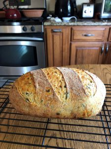 Sharon's Green Chili Bread