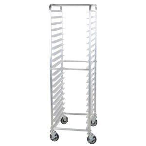 A typical sheet pan rack