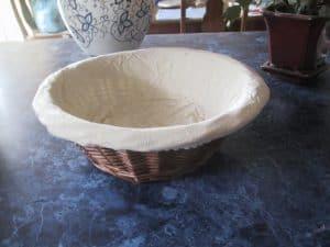 A round banneton
