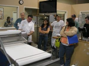 Brian showing us an SFBI sheeter
