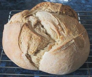 San Francisco Style Sourdough Bread Boule