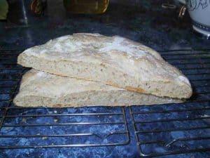 VitaSpelt Ciabatta, sliced