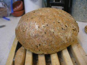 Flaxseed boule