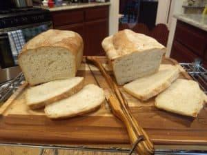 Frigid and scruffy loaves, side by side