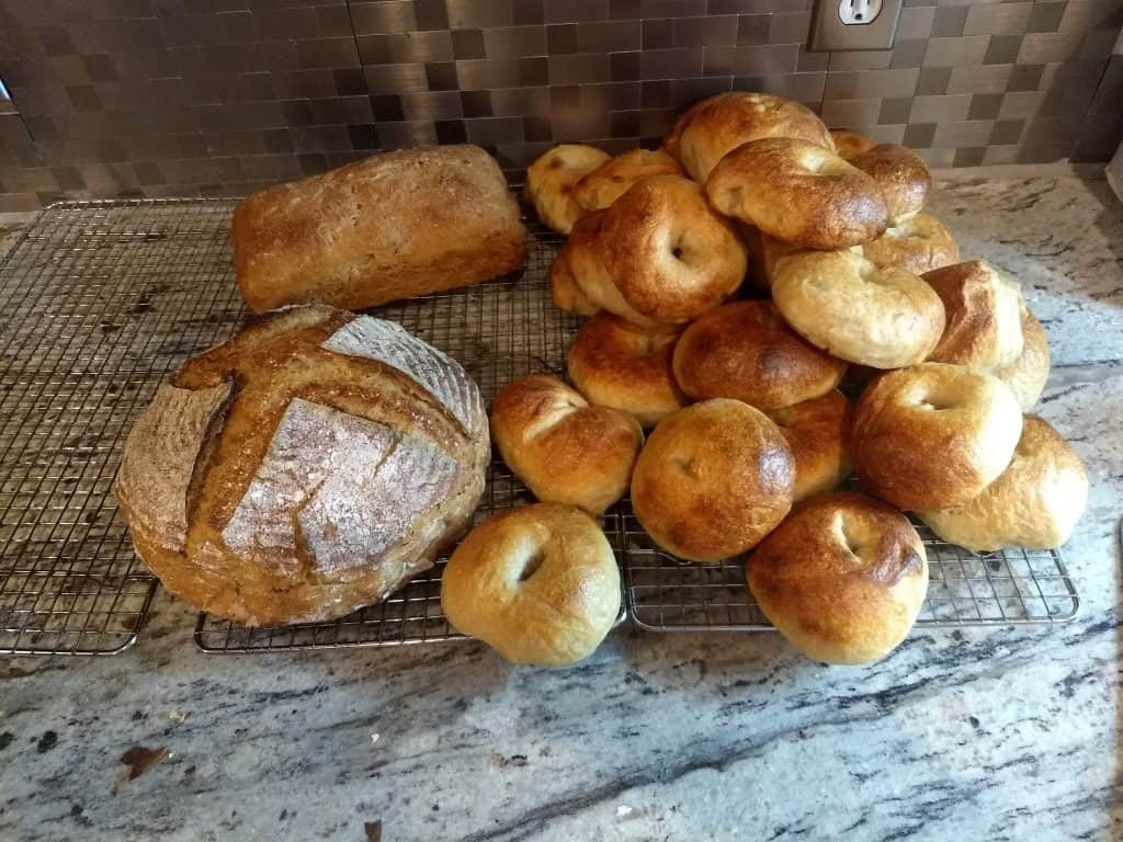 July 25th Bake Bagels and Light Rye Breads