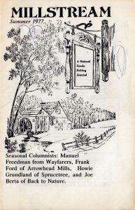 millstream 1977 v1 n2 (Summer) Cover