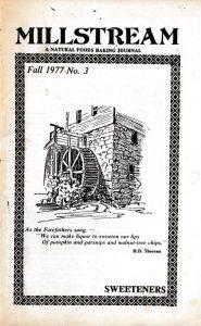 millstream magazine 1977 v1 n3 (fall) Cover